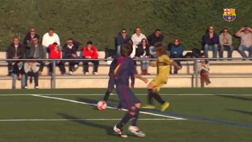 西班牙足球归化从娃娃抓起,16岁巴萨小将法蒂可能是下一个梅西