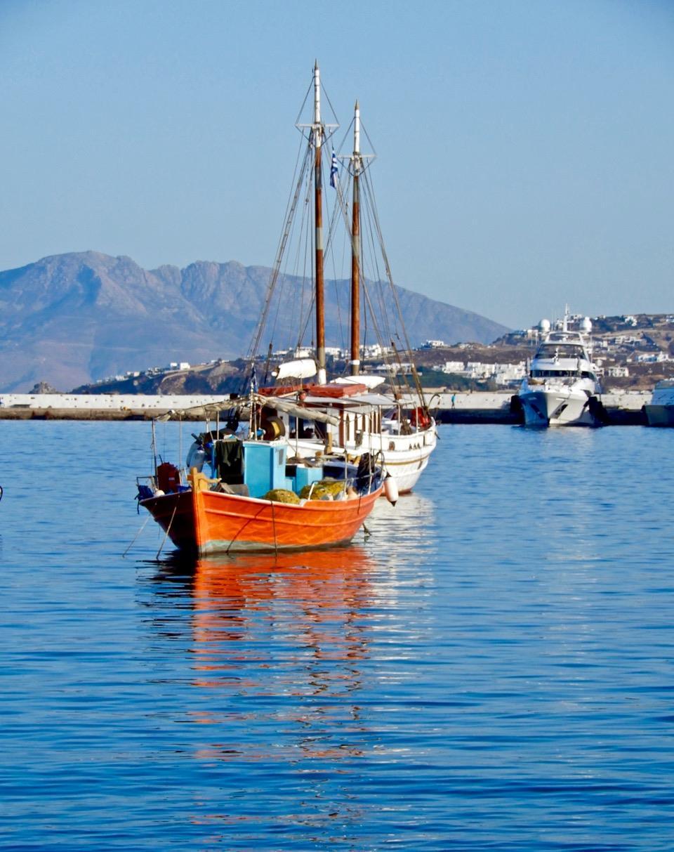 原创清晨的礼物:希腊小岛慢生活,米克诺斯如歌的行板