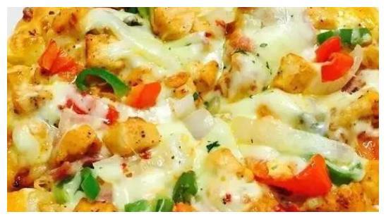路过必胜客闺女想吃披萨,价格太贵不如自己做,不用烤箱也能成功