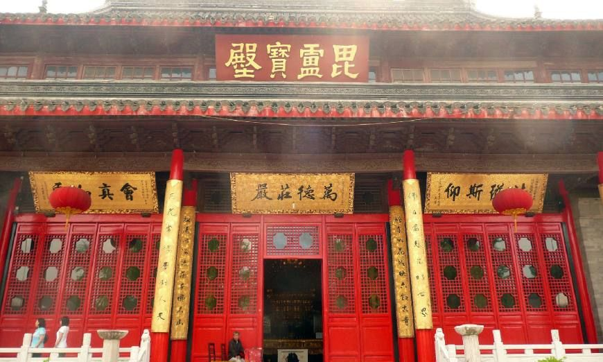 中国佛教四大名刹