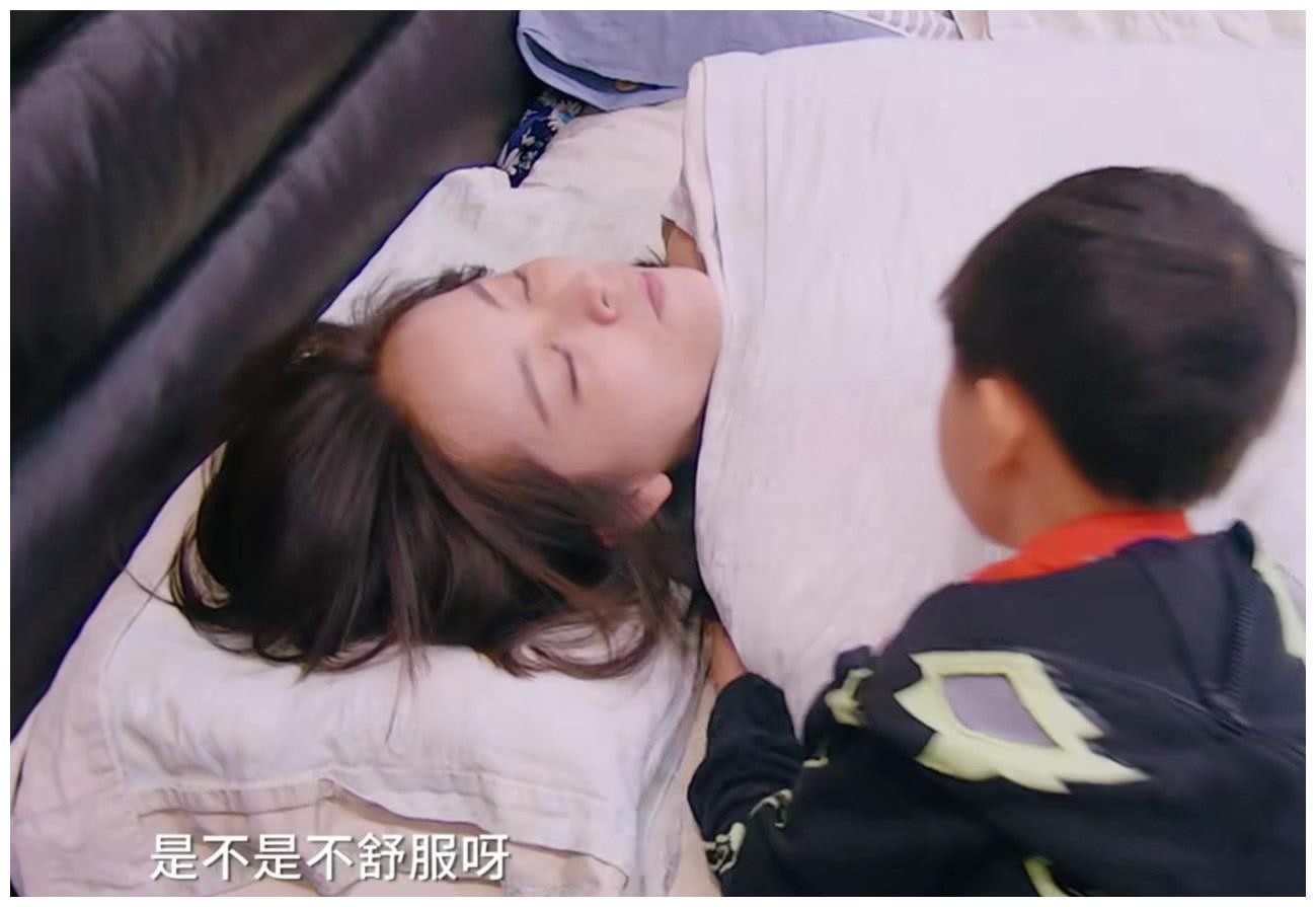"""《妈妈是超人3》邓莎惨遭""""生理痛"""",大麟子一个动作暖哭众人!"""