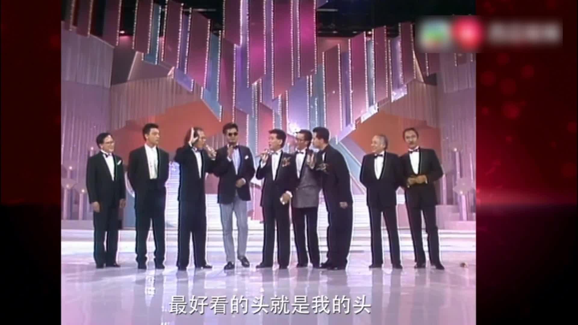 香港小姐珍稀片段:发哥谢贤罕有同台!谁是他们心动港姐!