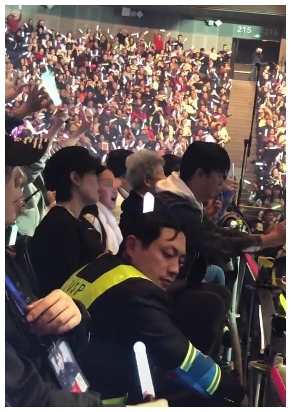 马伊琍带女儿看李健演唱会,11岁的爱马的侧脸和文章神似