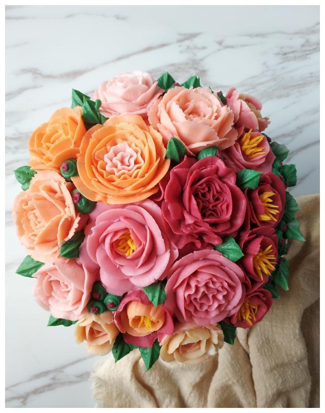 最受欢迎的韩式裱花,原来可以美到极致