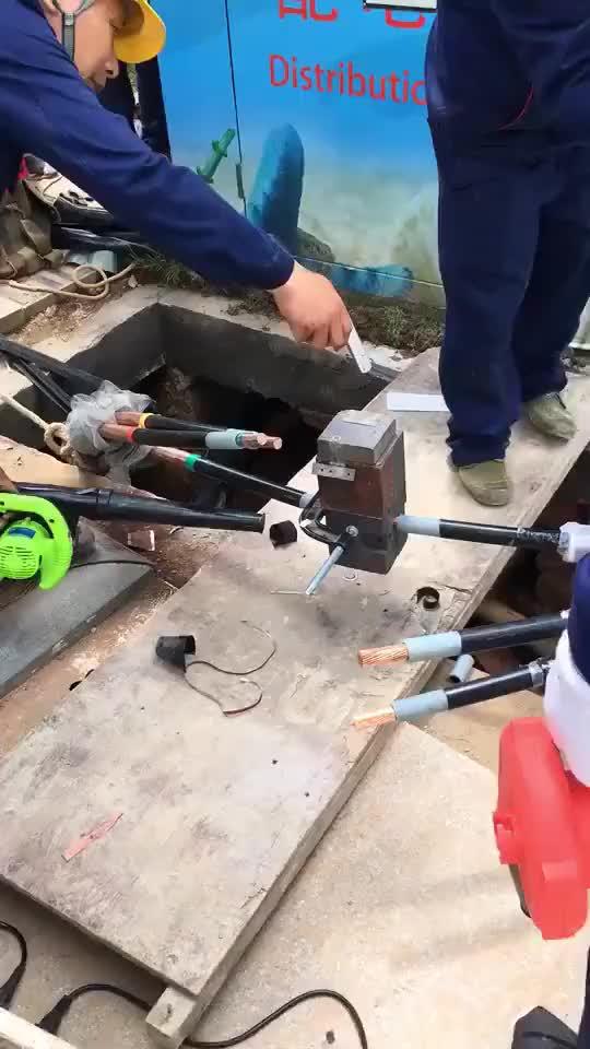 热熔对接 最好方式 没有之一 不存在电阻问题