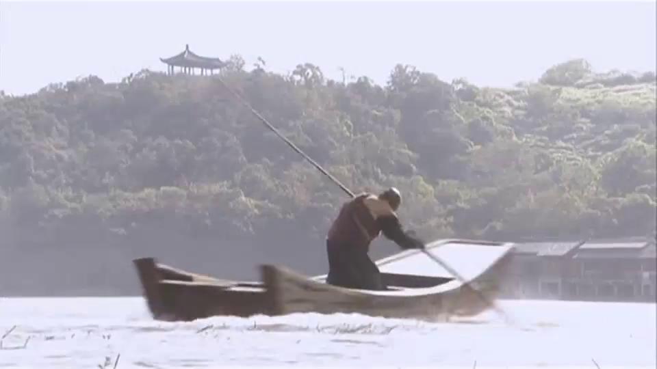 天龙八部  鸠摩智和这个武林高手不会划船