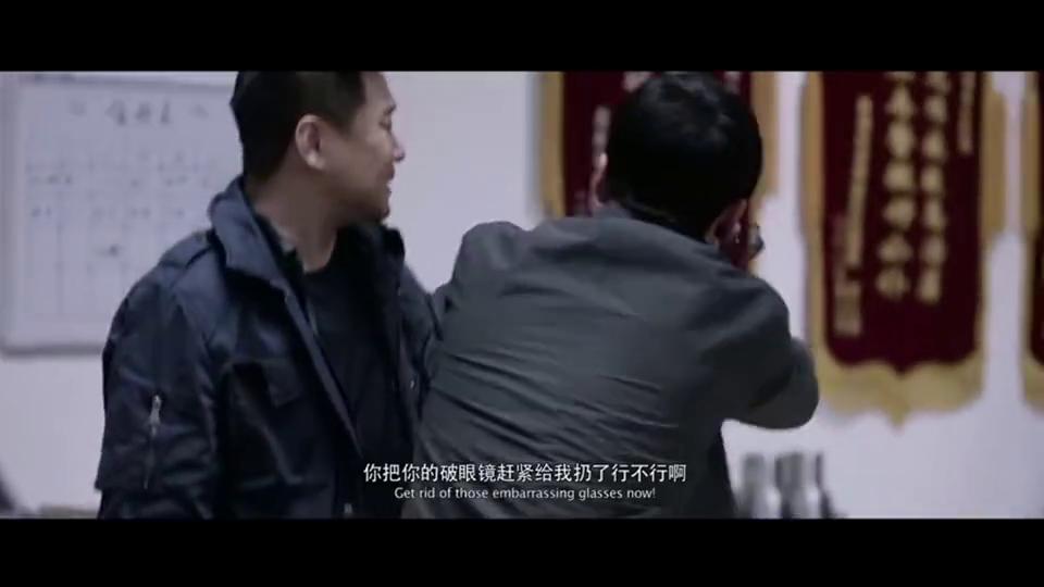我是证人:警队老队长几句话就打发了死缠烂打的杨幂回家