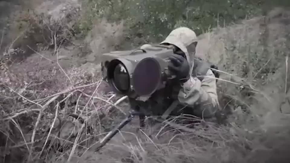 俄罗斯特种部队演习使用多种枪械