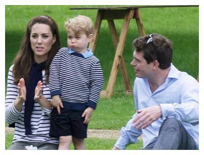 乔治小王子承担王室表情包:都是遗传威廉王子,父子俩一模一样!