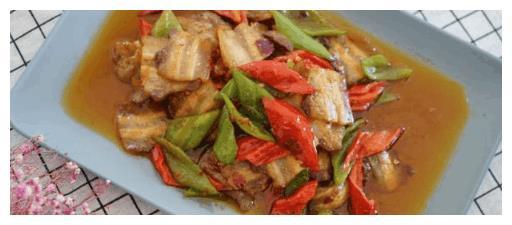 爸爸最爱的回锅肉, 入口浓香, 吃起来肥而不腻