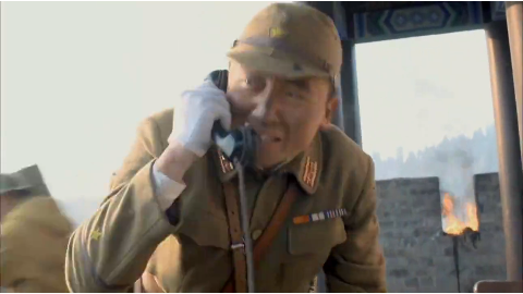 鬼子欲用毒气弹对付八路军不料一开仓库看见的却是遍地的炸弹