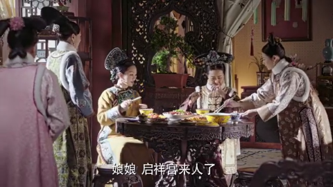 民间传言酸儿辣女,如懿故意吃川菜,隐瞒自己怀男胎
