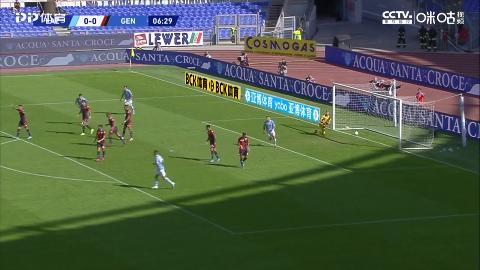 米林科维奇内角劲射球进了拉齐奥1-0热那亚