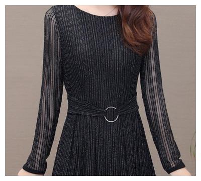 2019年春季新款连衣裙,适合38到55岁穿,简直美到开挂 款式 圆领 长袖 新浪网