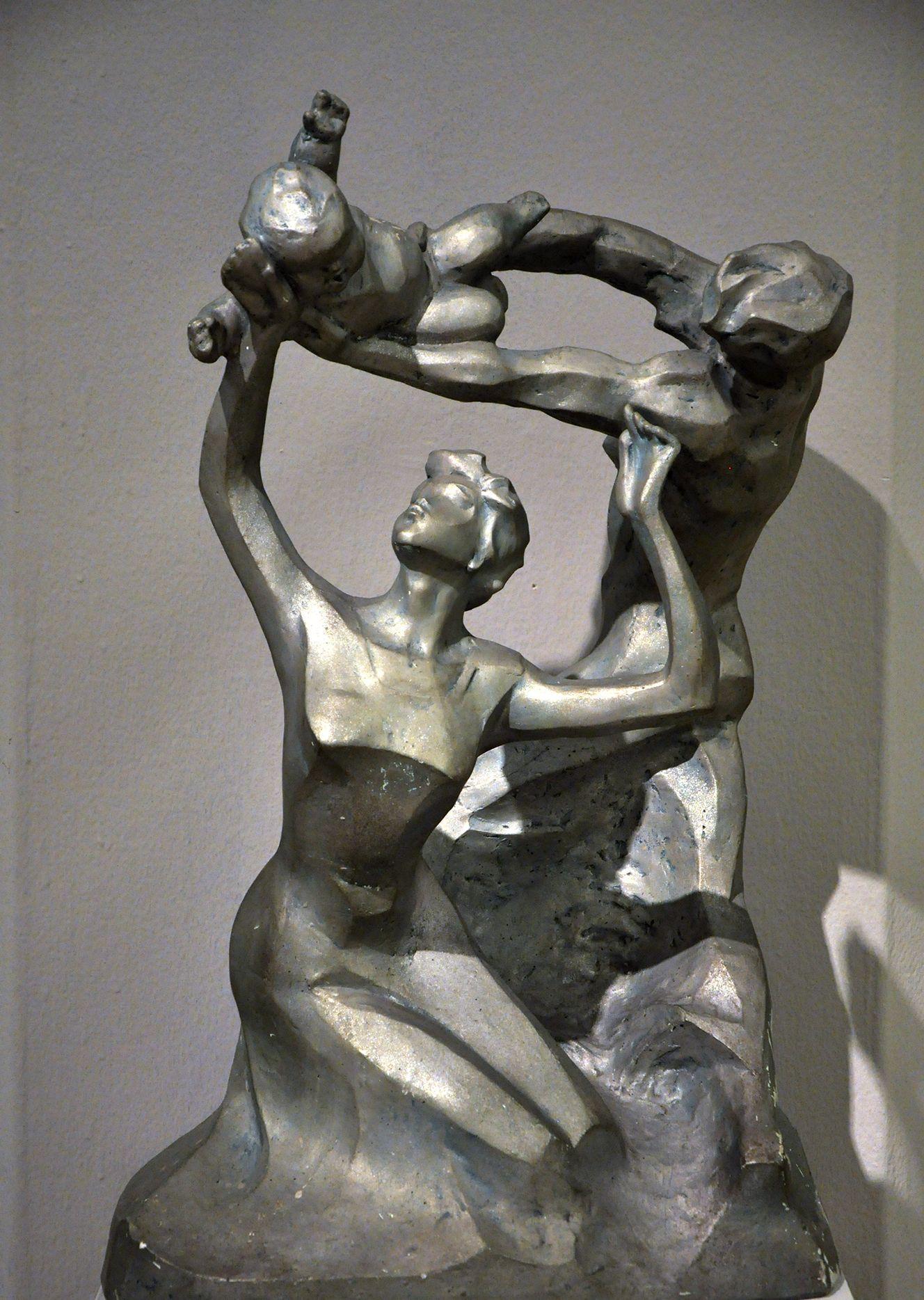 从长江走来——湖北优秀美术作品展,雕塑篇
