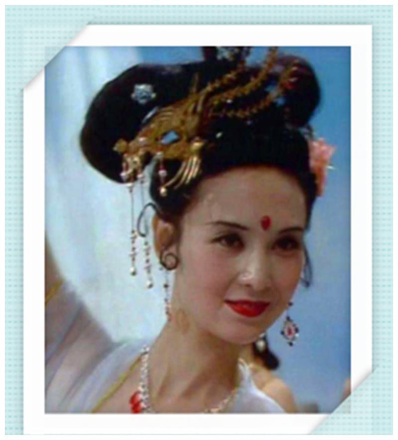 """一个被大家遗忘的女演员,曾是""""最美嫦娥"""",今60岁风采依旧"""