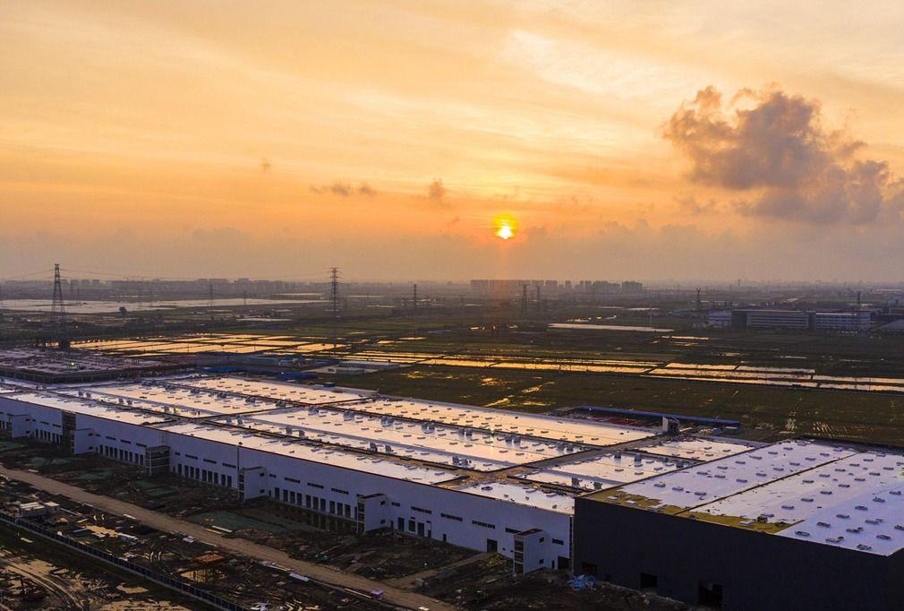 上海特斯拉超级工厂,进度惊人已在安装生产设备