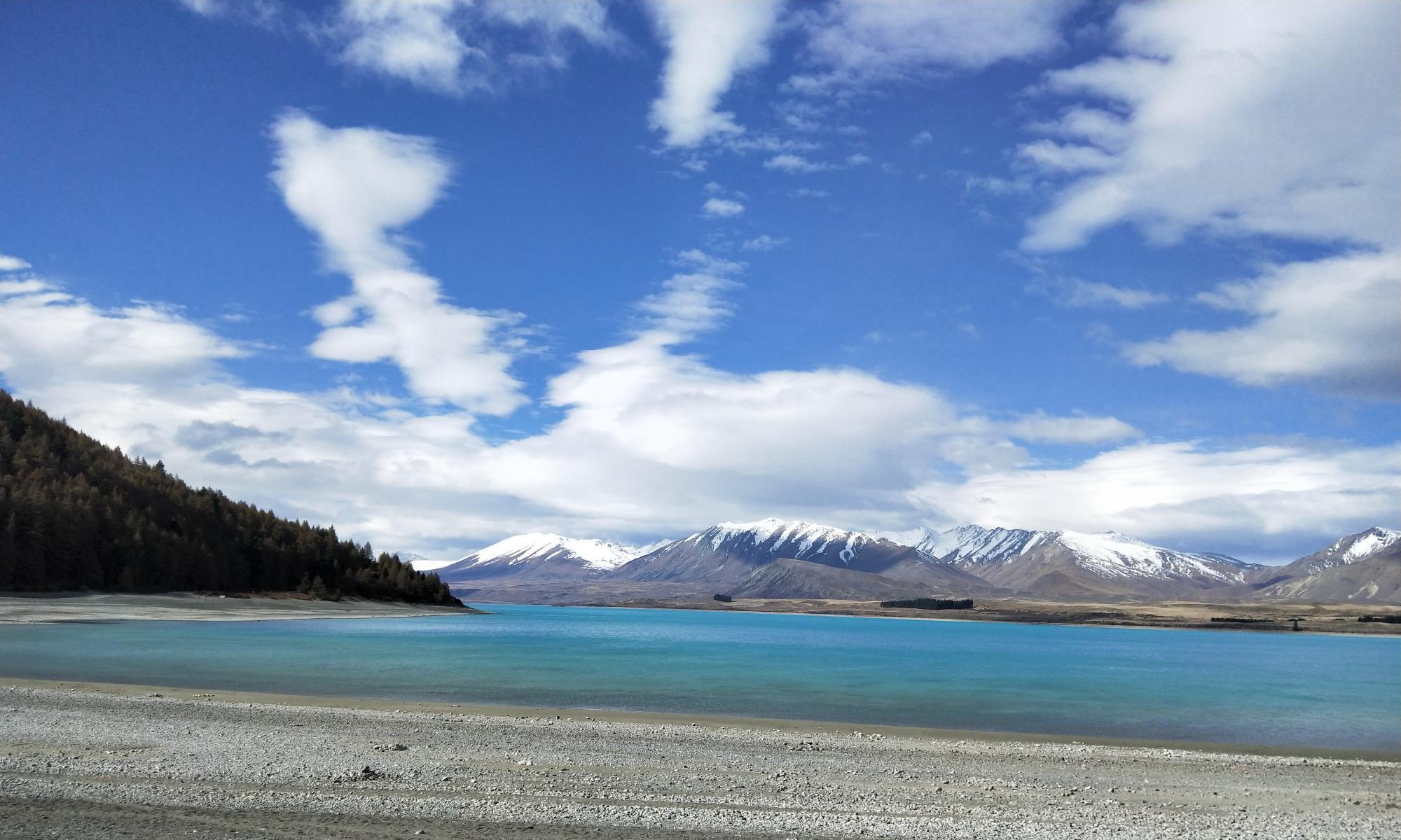 新西兰旅行之特卡波湖小镇,湖光山色美景星空,网红必去的打卡地