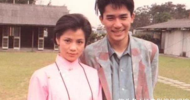 翁美玲梁朝伟当年因与TVB签五年长约,曾遭到不少同行的非议