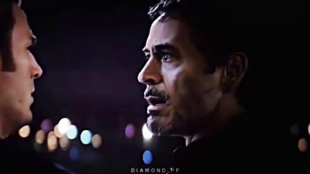 钢铁侠与蜘蛛侠混剪视频,看到泪目