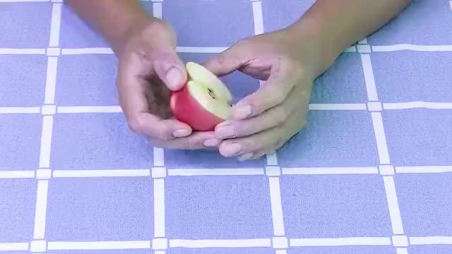 减肥不用花钱去健身每天用苹果泡着喝不运动不节食轻松瘦身