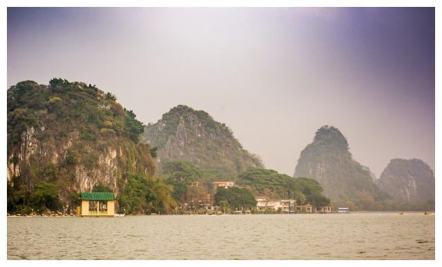 """广东也有""""桂林山水"""",景色迷人,媲美杭州西湖!"""