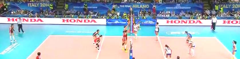 中国女排第五个赛点中国拿下,郎平率领中国女排重返世锦赛决赛!