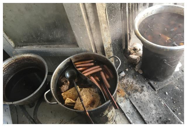 出差去农村办事,去这样的早餐店吃,牛肉面卤蛋豆腐皮都比城里强