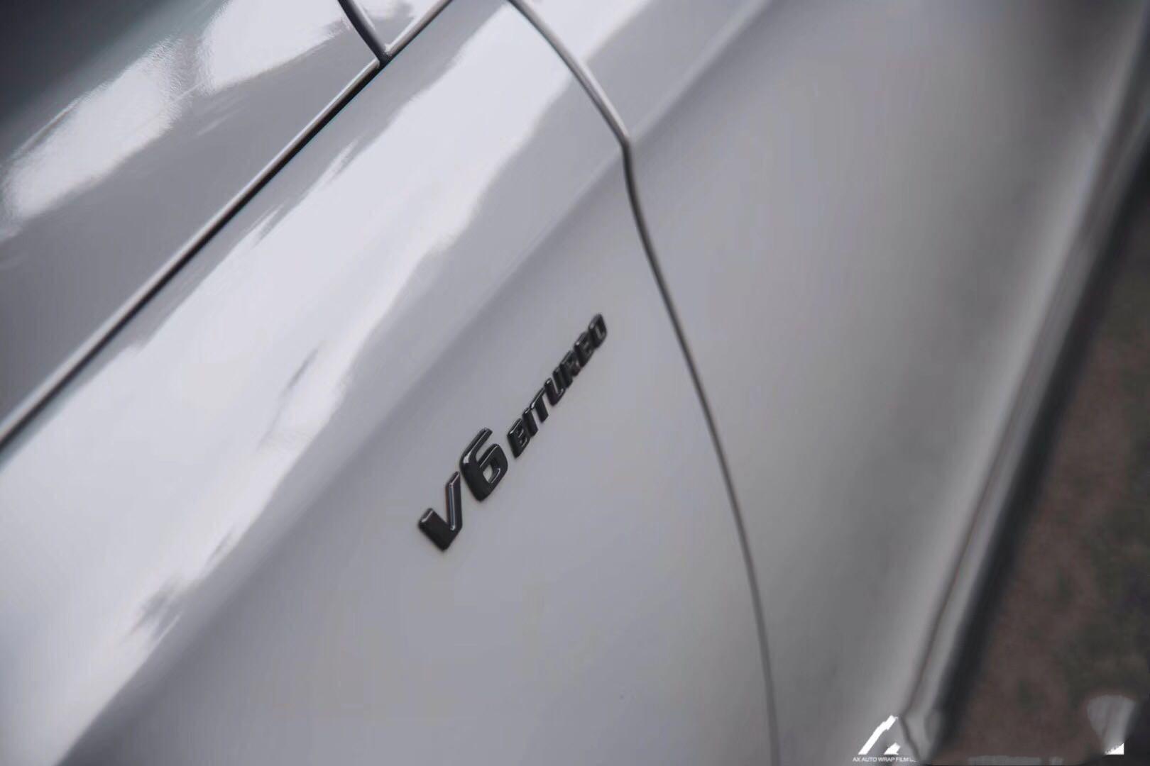 这种车要的就是个性 就是快 奔驰CLS320改色高亮纳多灰