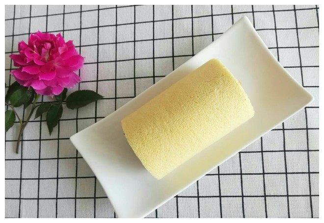 小米蛋糕卷最简单做法,美味营养,还无添加剂,大人小孩都爱吃!