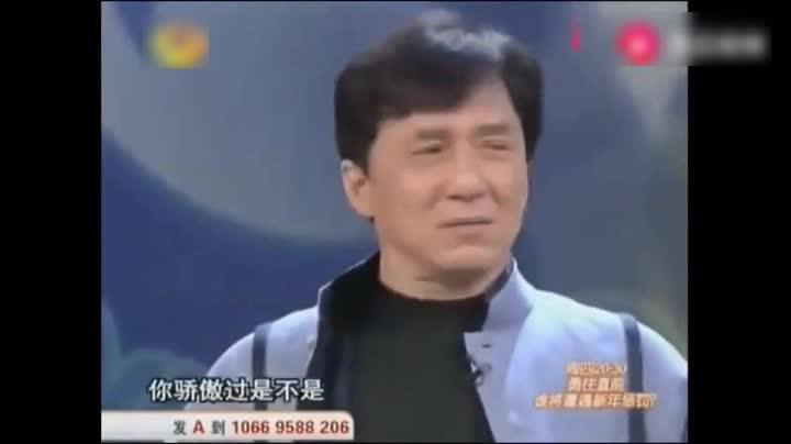 成龙:自己曾经太不可一世,竟然跟邵逸夫去谈条件!何炅都笑了!