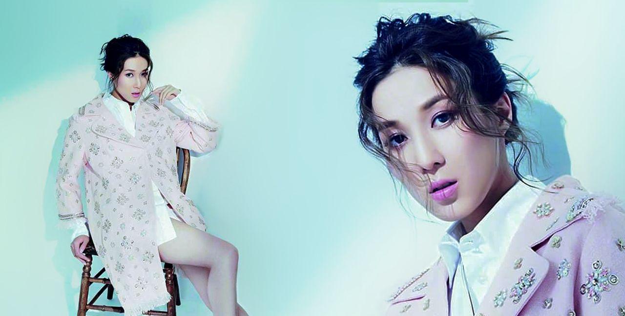 明星钟嘉欣发布一组时尚杂志风尚大片!