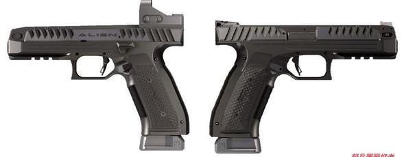 限量500支,这支低枪管轴线的外星人手枪,让快速射击更精准