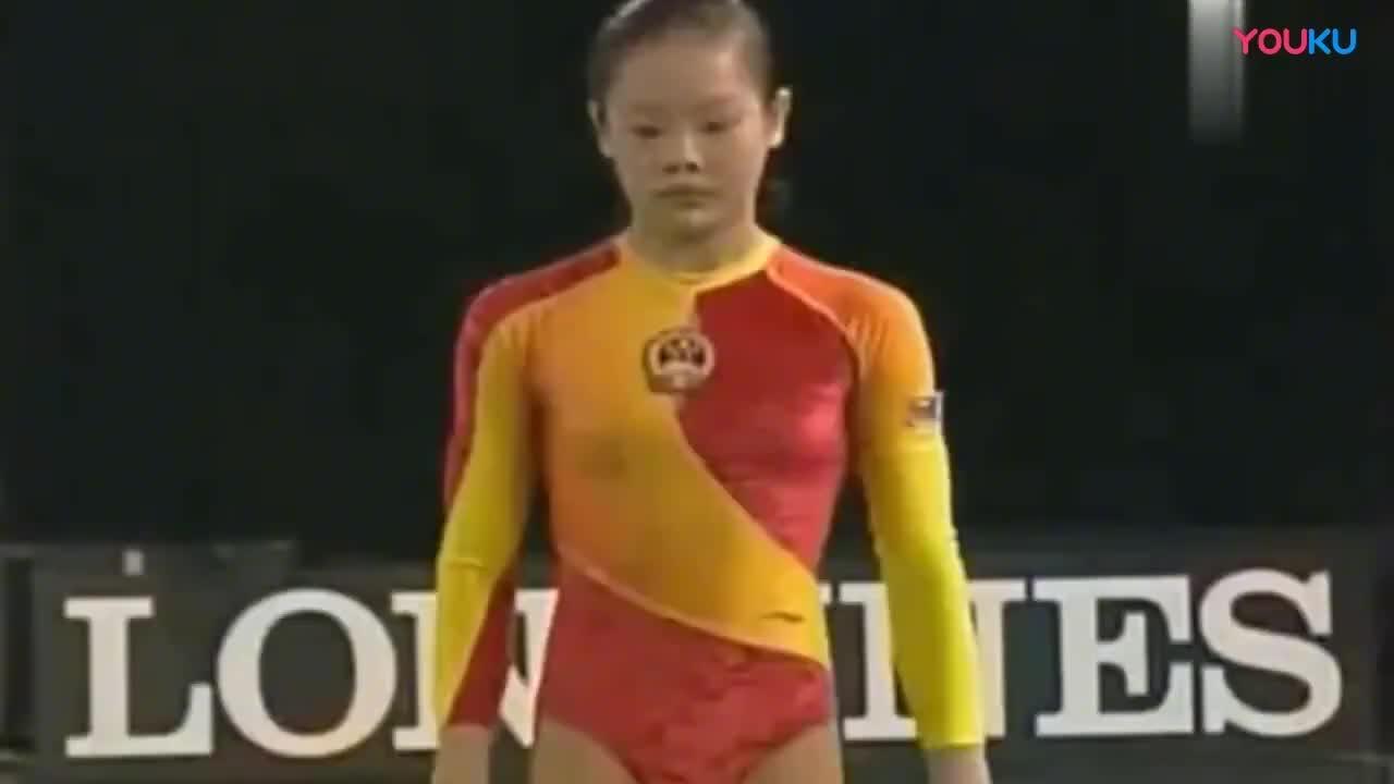 中国女子体操队领军人物跳马女皇程菲的这一跳外国解说都激动了