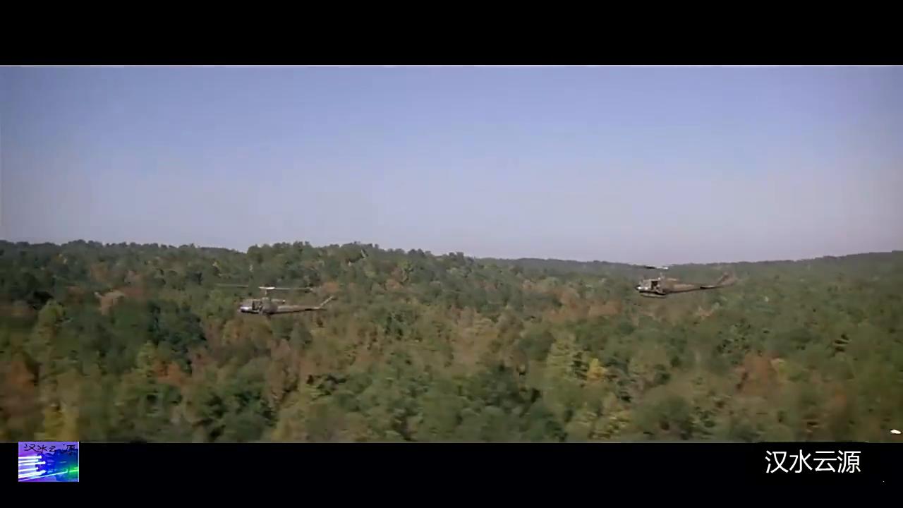 越军辛苦一夜建的桥,在20秒内被美武装直升机摧毁的一干二净