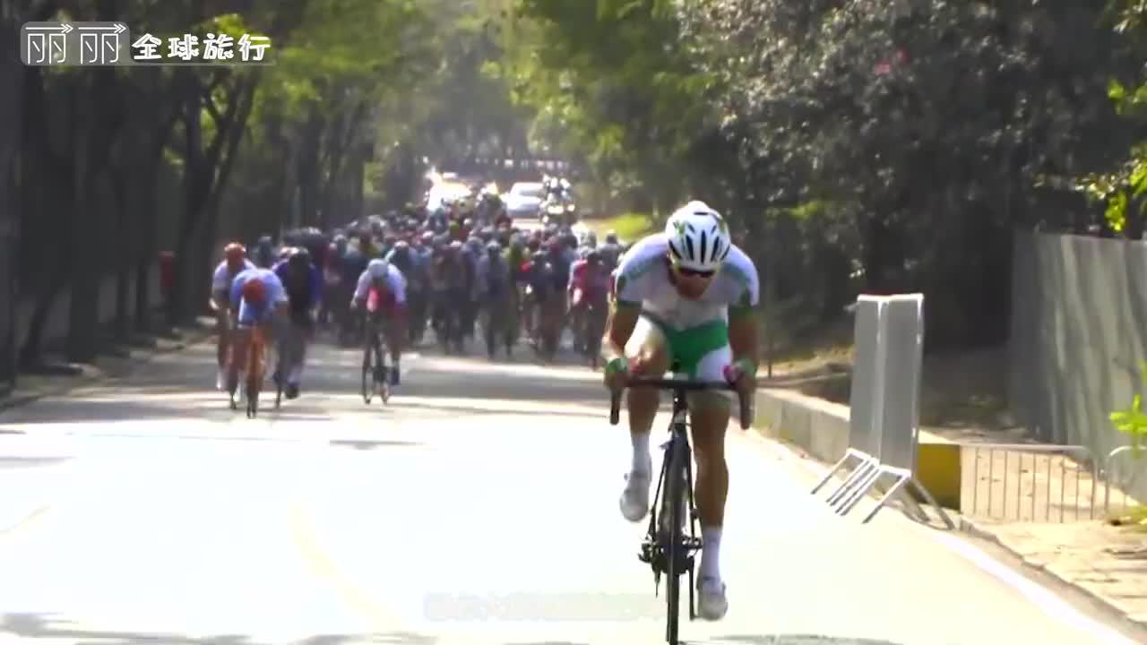 世界自行车慢骑比赛最慢的才能得冠军一分钟估计都骑不了1米