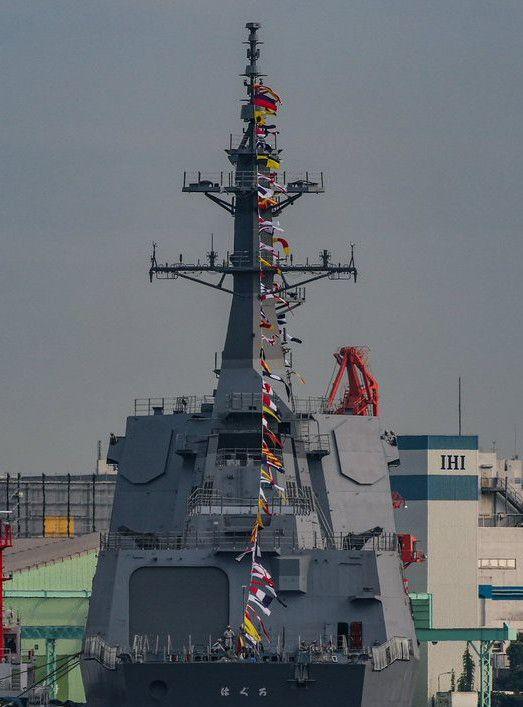 日本新一代摩耶级万吨导弹驱逐舰组图
