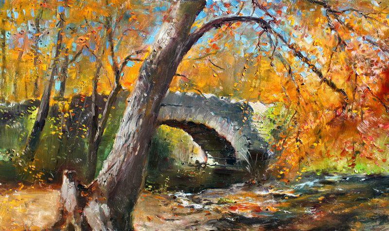 他的油画技法值得借鉴:阿尔巴尼亚艺术家Ylli Haruni作品欣赏