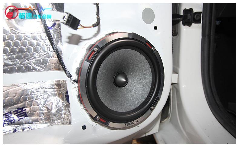 大众桑塔纳音响改装劲浪,聆听最真实的音乐