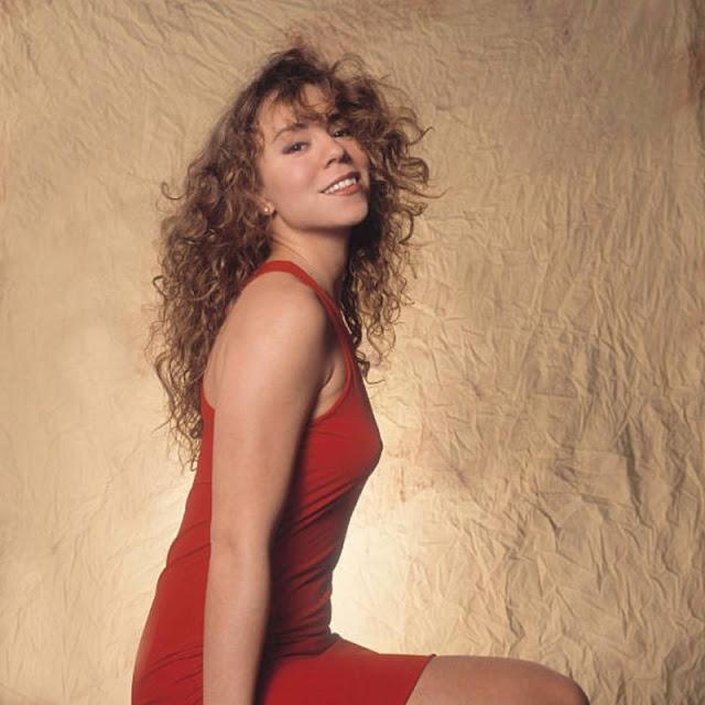 九十年代初,年轻的玛利亚凯莉(3)