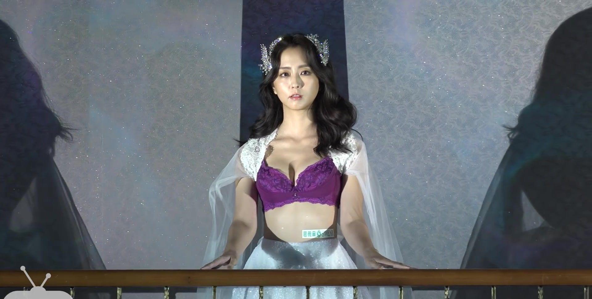 台北内衣时装秀:模特气质优雅,身材火辣,美艳不可方物