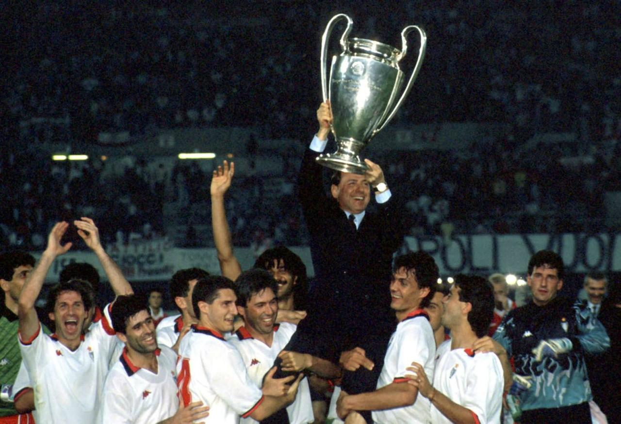29年前今天欧冠决赛AC米兰1比0本菲卡卫冕 荷兰三剑客等星光熠熠