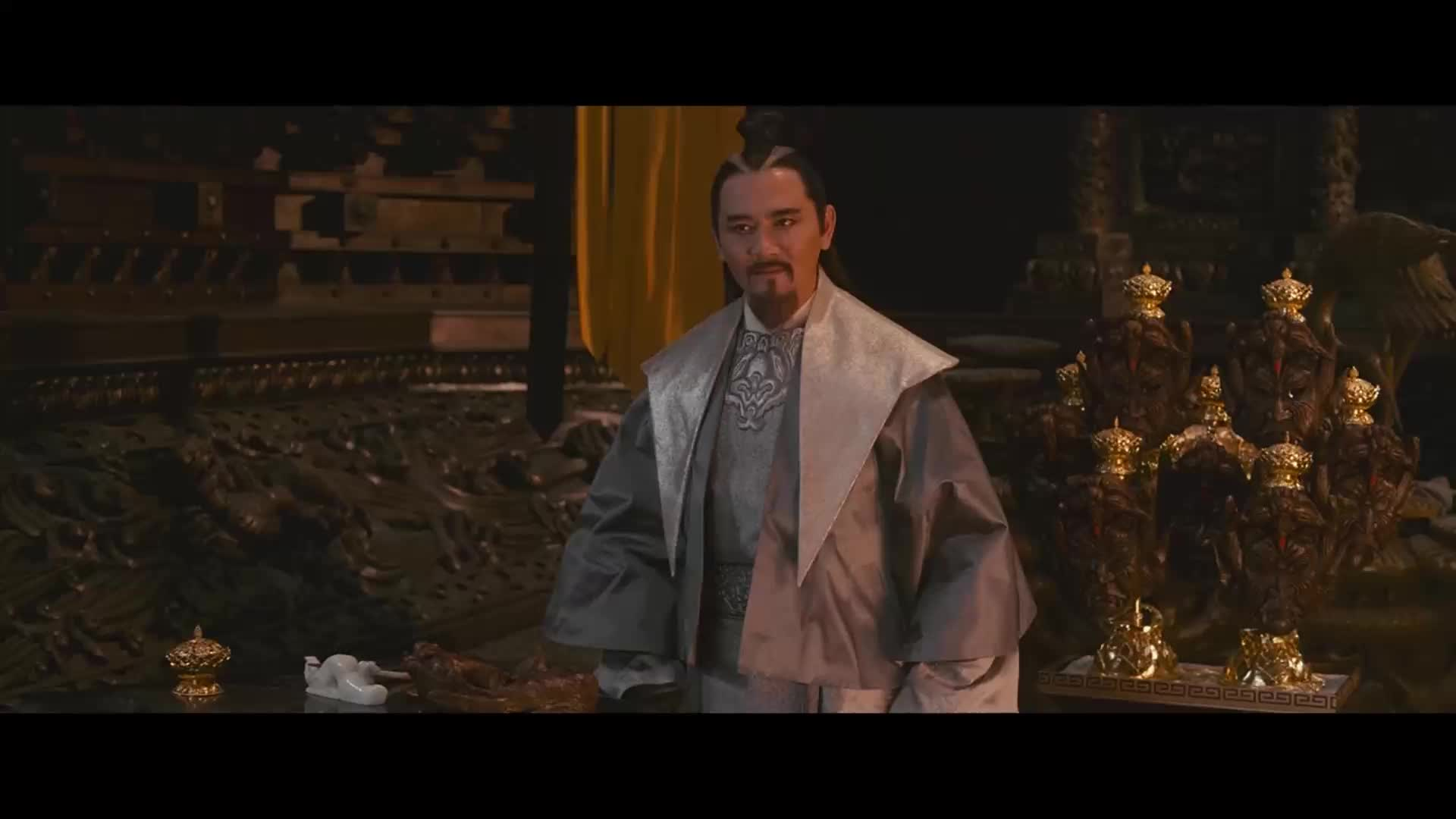张道仙说着天上神仙的位置然后自己就坐到玉皇大帝的位置去了
