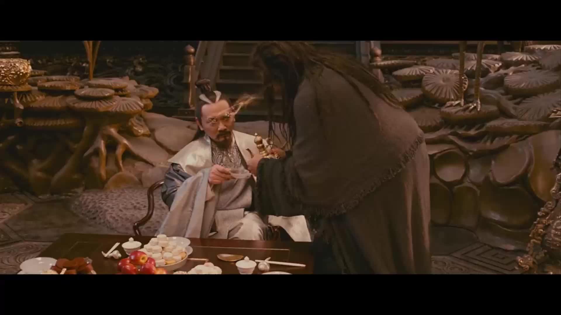 张道仙想成为三界的王还间接承认了自己骗了钟馗