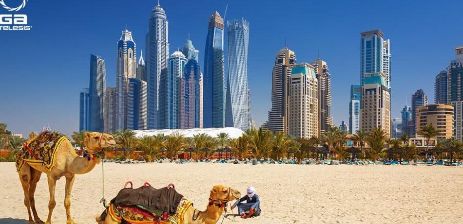 """亚洲某国的国产""""大运""""到迪拜航展大力推销并做飞行表演"""