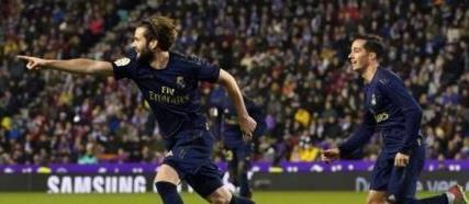 纳乔制胜球卡塞米罗进球被吹,皇马客场1-0巴拉多利德
