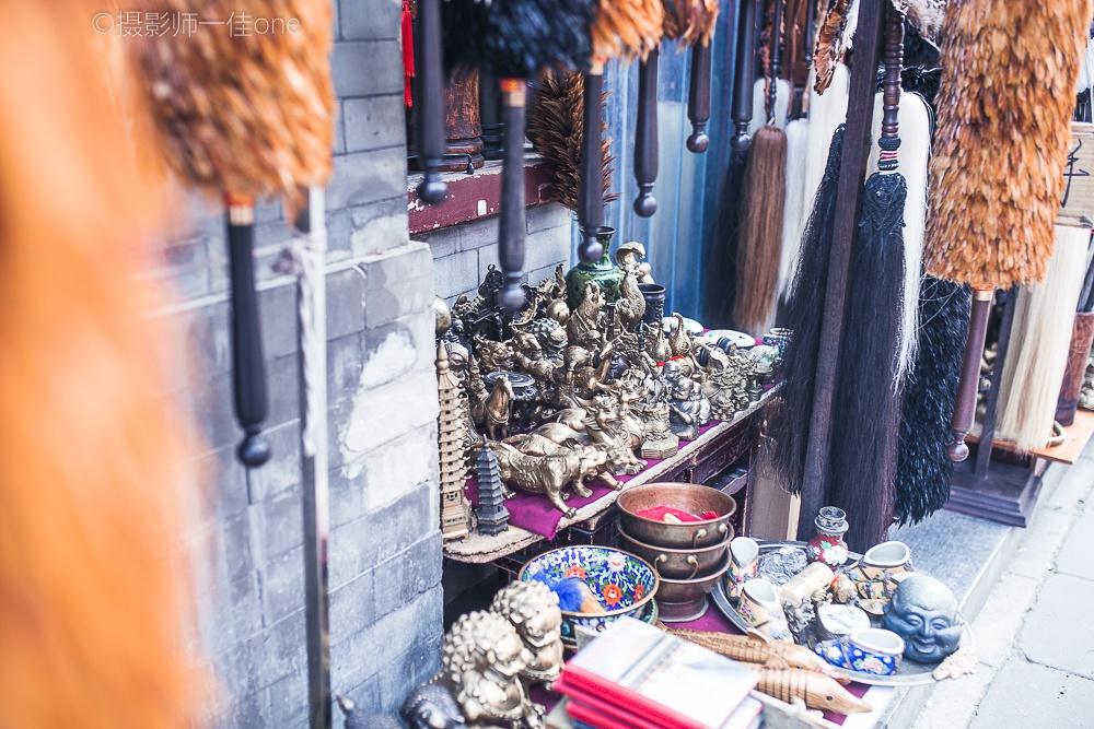 实拍国内最大旧货市场-潘家园旧货市场