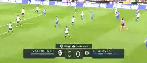 (西语)西甲:瓦伦西亚3-1阿拉维斯 扎扎罗德里戈建功