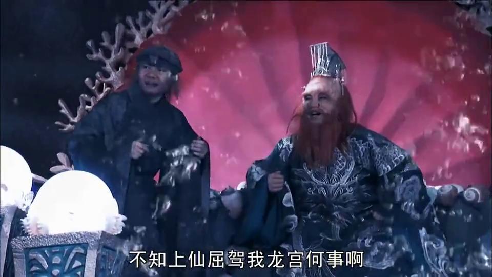 影视:孙悟空大闹东海龙宫,抢走龙宫定海神铁如意金箍棒