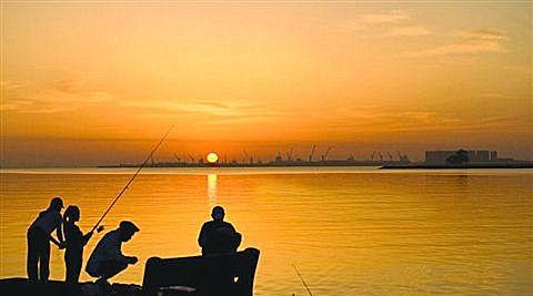 山东临沂跋山水库钓鱼,你们去过吗,效果还真不错